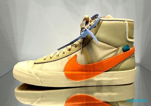 hot sales 9cde4 caddb Coming on the heels of multiple Off-White x Nike Air Prestos, Virgil Abloh  has begun teasing the release of a couple Off-White x Nike Blazer Mids, ...