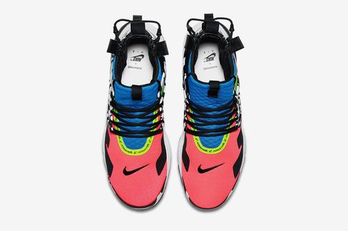 dc5790a86274f Acronym's Nike Air Presto Mid collaboration is officially scheduled to drop  in September in a trio of new colorways, following up the beloved Acronym  Air ...