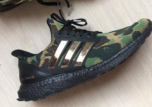 709945a35 BAPE x Adidas UltraBoost Collab Surfaces  First Look - ImPlurnt