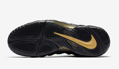 70feb563c48 The Nike Air Foamposite Pro will return to retailers subsequent month in a  traditional black metallic gold colorway.