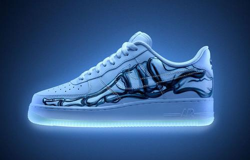 """Halloween Themed Nike Air Force 1 """"Skeleton"""" Releasing Today"""