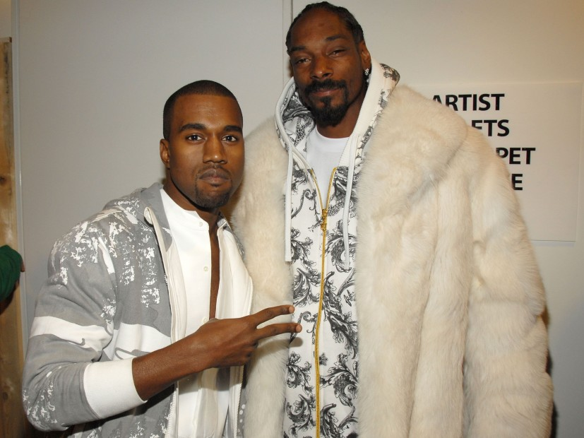 Kanye West Doesn't Want Any Smoke With Snoop Dogg — Check