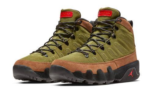 eaa1799f3d8614 Multiple colorways of the Air Jordan 9 Boot are scheduled to hit retailers  this Saturday