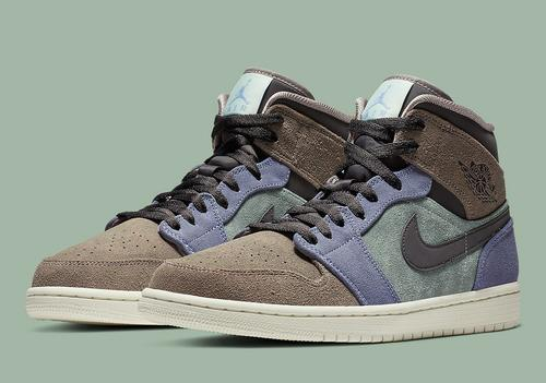 e3cbca24d288 Air Jordan 1 followers who ve been ready for a full suede model of the Air  Jordan 1 mid are in luck. Nike has launched official photographs of a brand  new ...