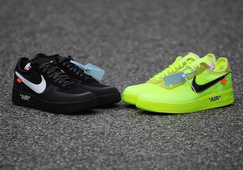 Virgil Abloh x Nike Air Force 1 Low to Release in Volt