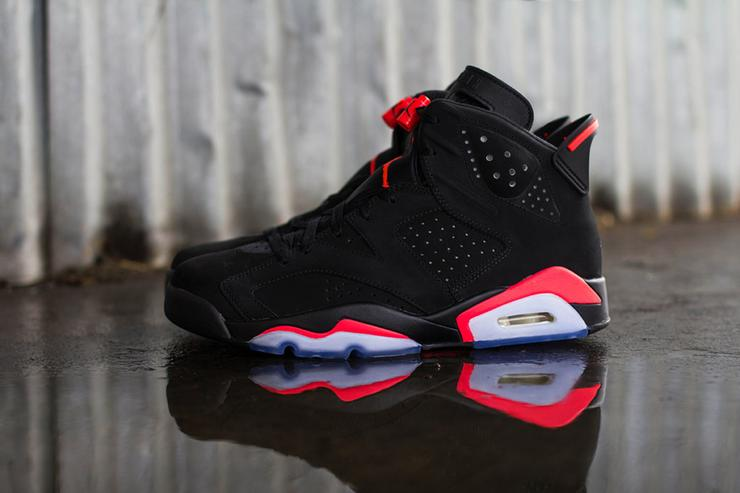 """reputable site 23cff 03a96 Air Jordan 6 """"Black/Infrared"""" Restock Announced For Today ..."""
