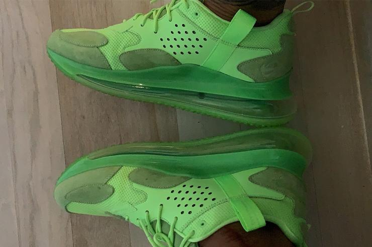 3e4a4d714fd Odell Beckham Jr. Shows Off Potential New Nike Air Max 720 - ImPlurnt