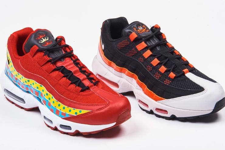 Nike Air Max 95 Crab Sneaker Details   HYPEBEAST