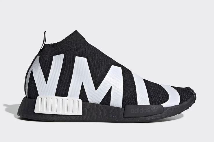best service c5700 ab332 Adidas NMD City Sock Dressed In Bold Branding: Details ...