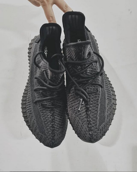 32d1ce7f2 Adidas Yeezy Boost 350 V2 Black Colorway Release Date Announced ...