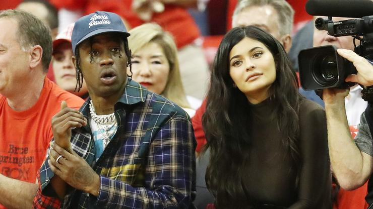 Travis Scott's Alleged Side Chick Attended His Birthday