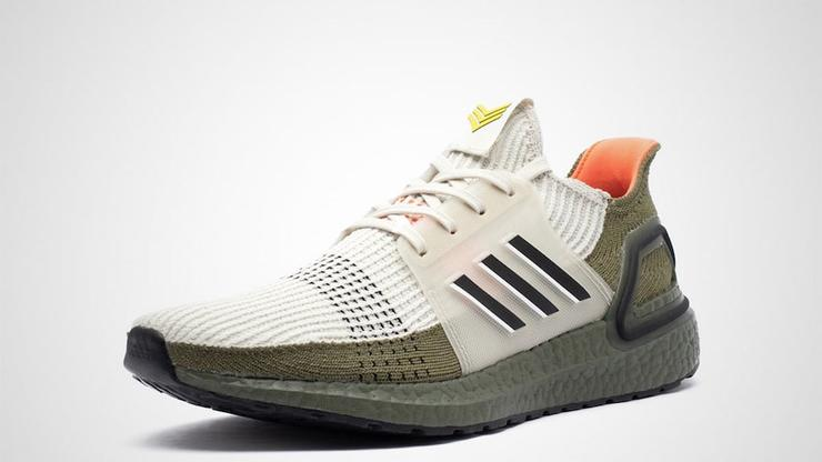 adidas Ultra Boost White Blue Green Sneaker Bar Detroit