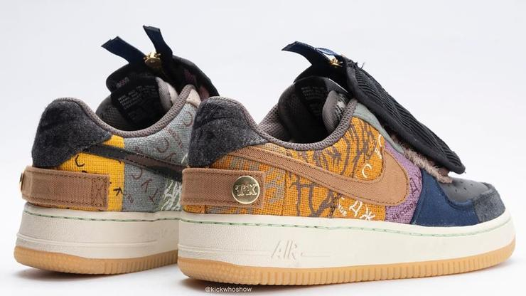 Nike Nike x Travis Scott 'Air Force 1 Low Cactus Jack