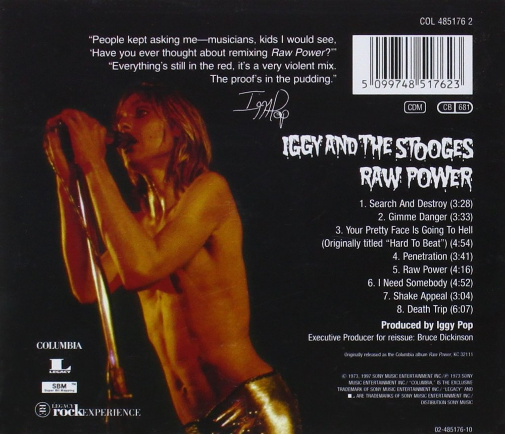 Iggy And The Stooges, Raw Power