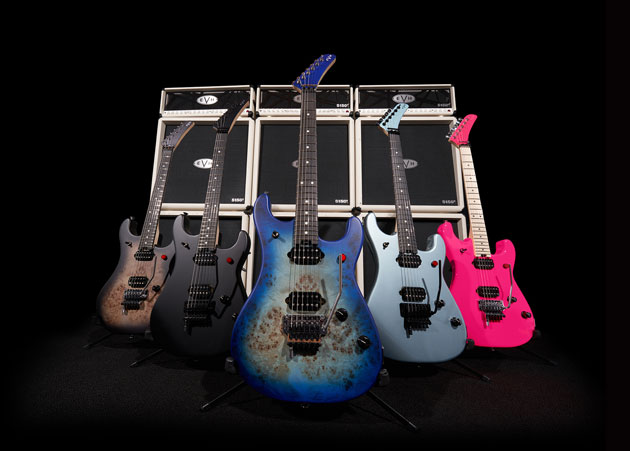 The new 5150 range of 2021 EVH guitars