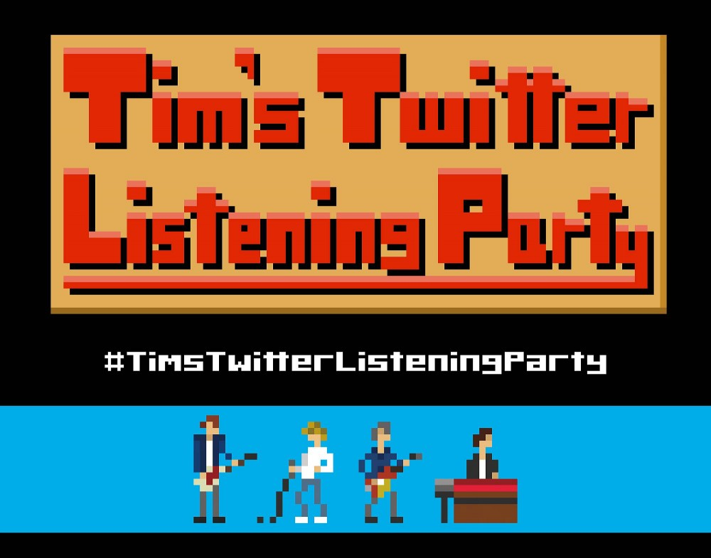 Designer Takekiyo has made a demo of an 8-Bit video game for The Charlatans' frontman Tim Burgess' #TimsTwitterListeningParty series. Credit: Takekiyo
