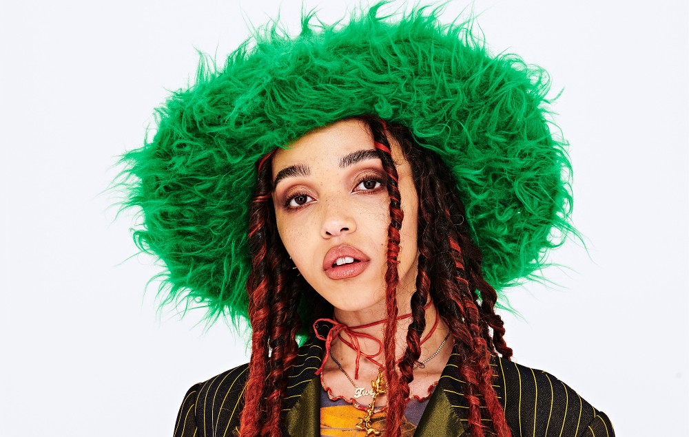 FKA Twigs at the NME Awards 2020. Credit: Dean Chalkley/NME