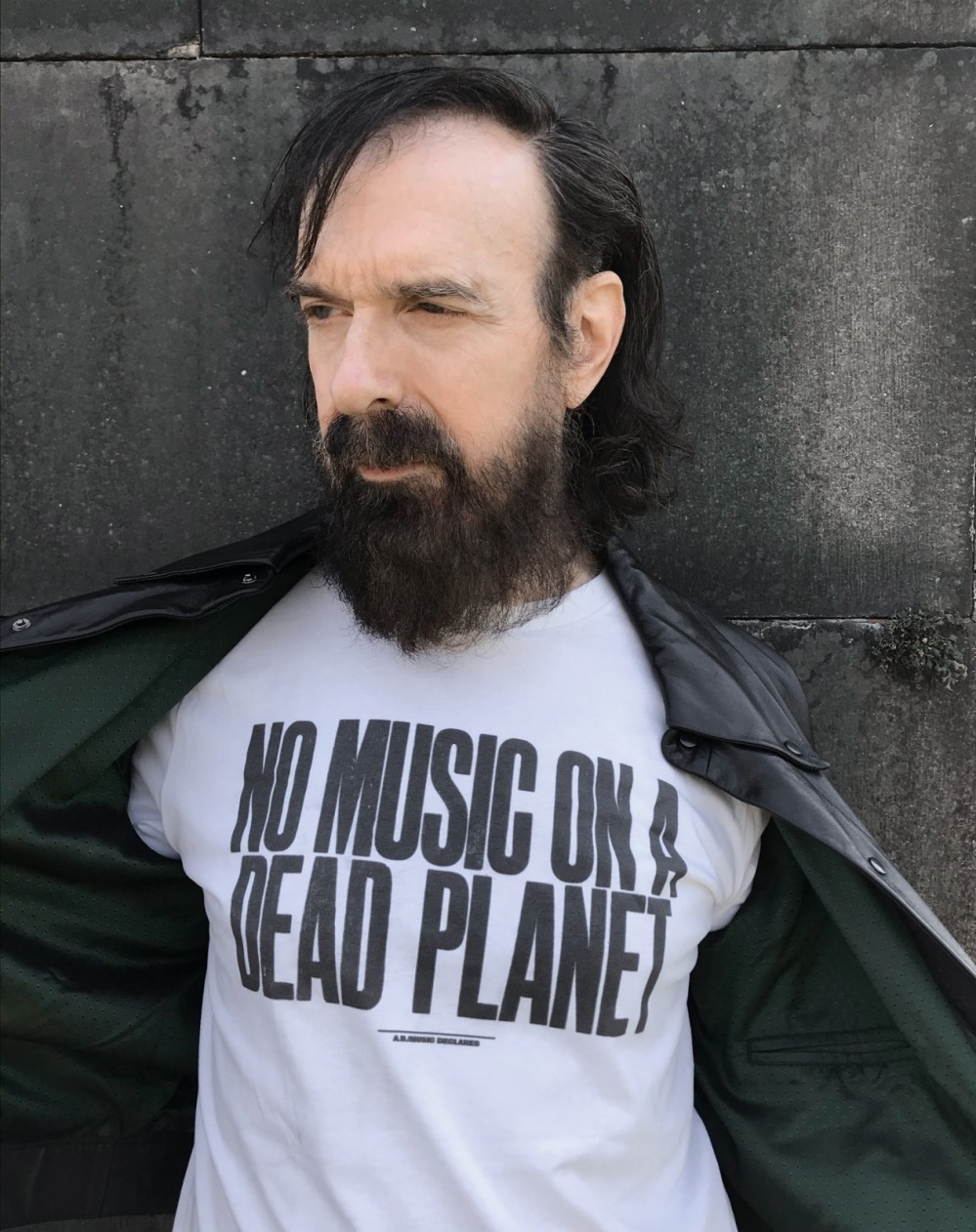 The Bad Seeds' Jim Sclavunos supports No Music On Dead Planet. Credit: Jim Sclavunos