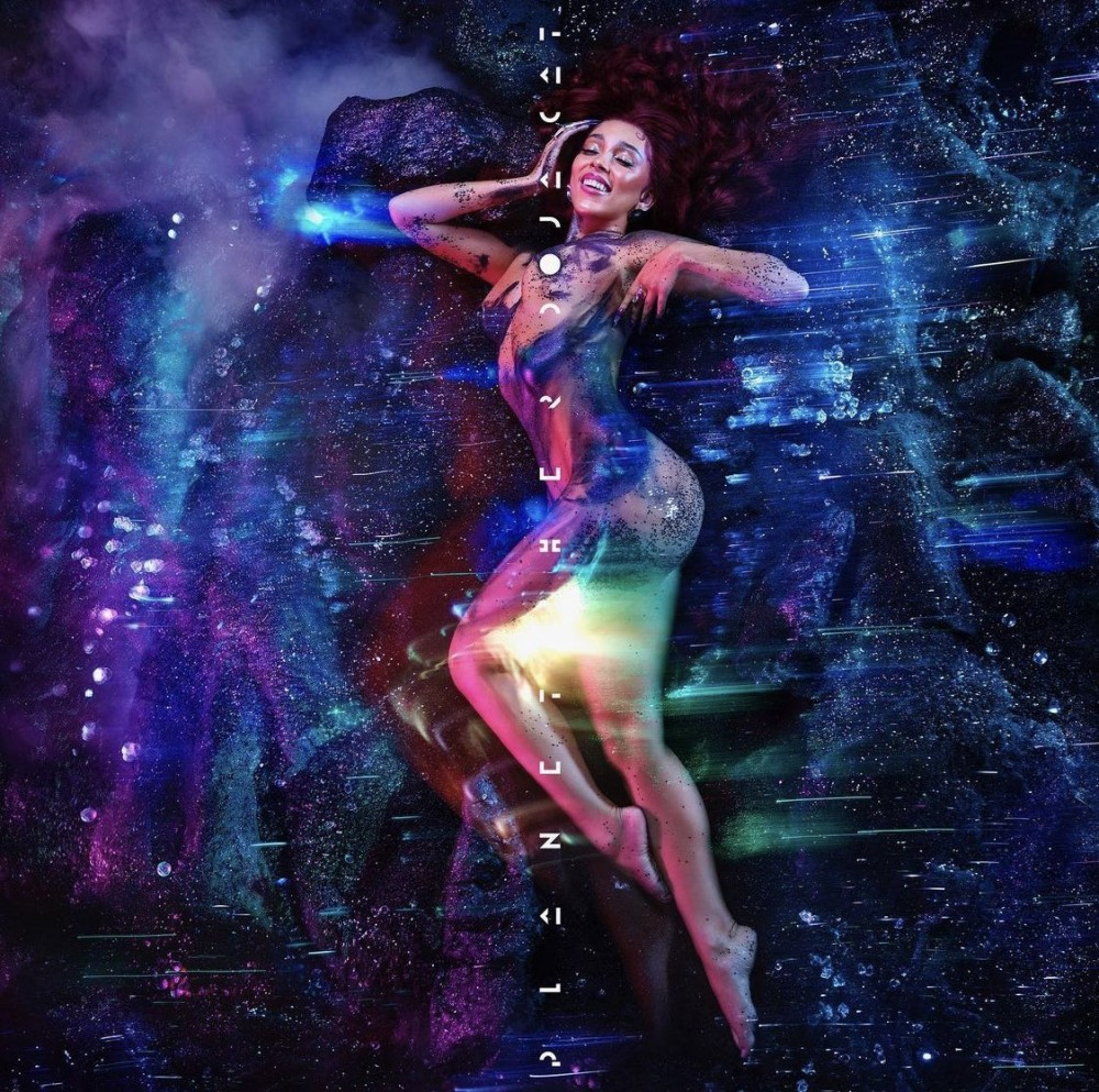 doja cat planet her album artwork