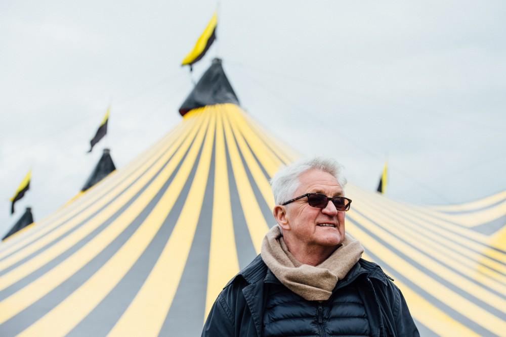 Festival Republic boss Melvin Benn. Credit: Ben Bentley for NME