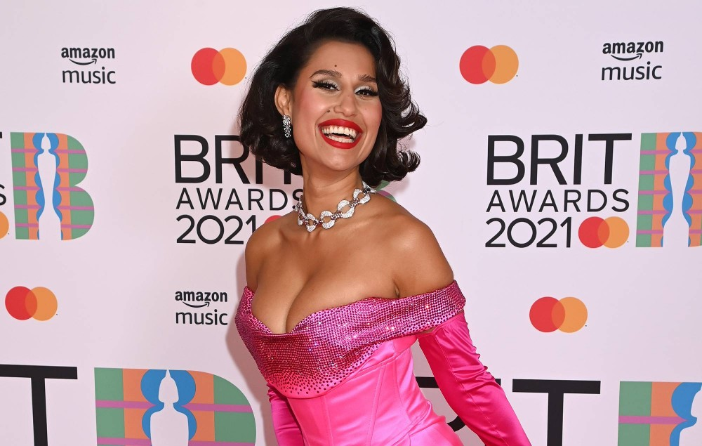 Raye attends The BRIT Awards 2021 at The O2 Arena on May 11, 2021 in London, England. (Photo by Dave J Hogan/Getty Images)