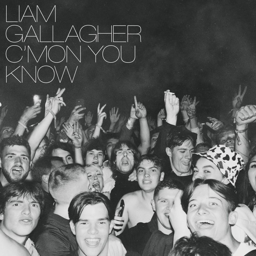 Liam Gallagher - 'C'MON YOU KNOW' artwork