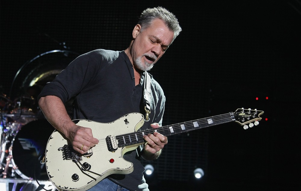 Eddie Van Halen guitars up for auction